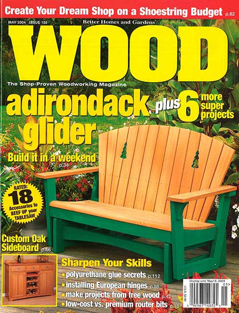 WOOD Issue 155, May 2004