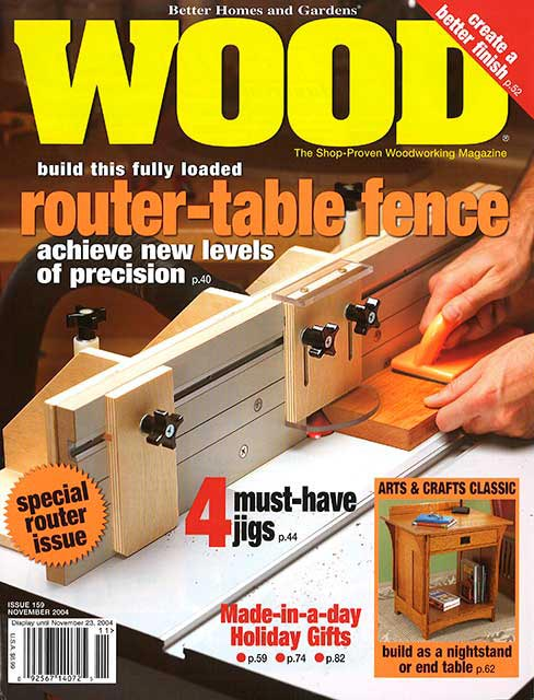 WOOD Issue 159, November 2004