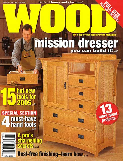 WOOD Issue 160, December/January 2004/2005