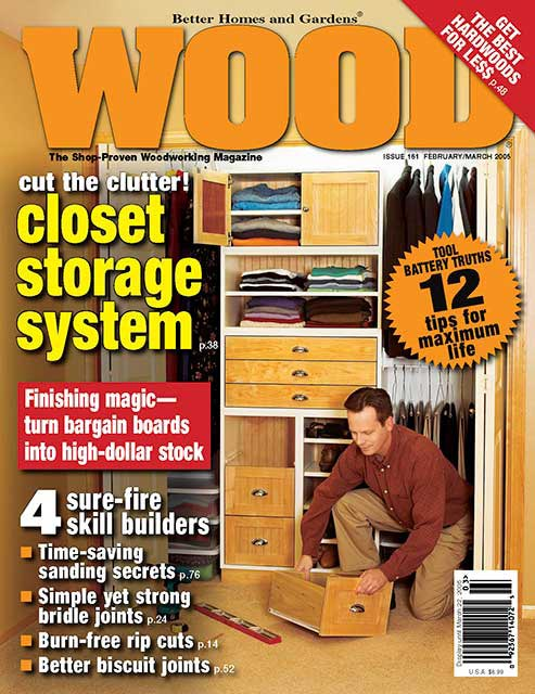 WOOD Issue 161, February/March 2005