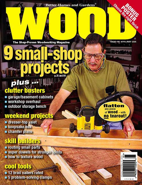 WOOD Issue 162, April/May 2005