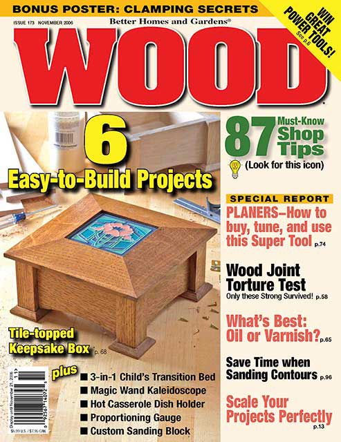 WOOD Issue 173, November 2006