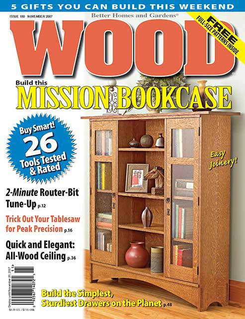 WOOD Issue November Woodworking Plan From WOOD Magazine - Better homes and gardens wood magazine