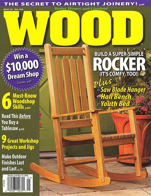 WOOD Issue 183, May 2008