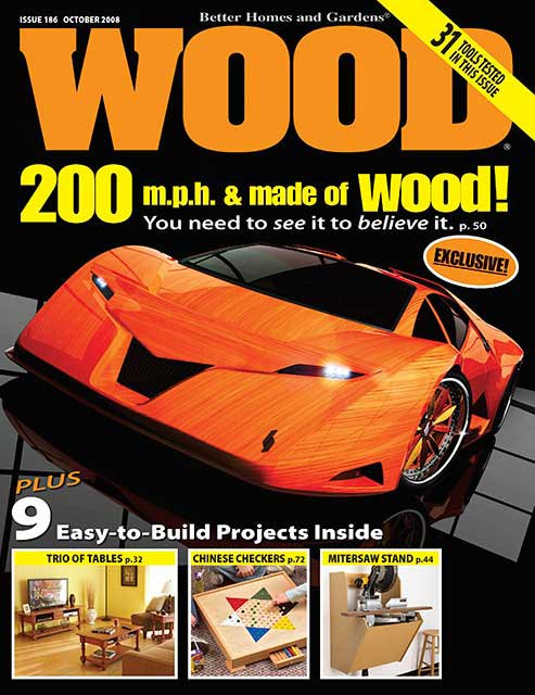 WOOD Issue 186, October 2008