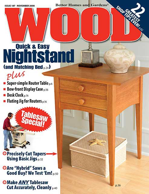 WOOD Issue 187, November 2008