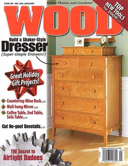 WOOD Issue 188, December/January 2008/2009