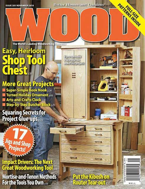 WOOD Issue 201, November 2010