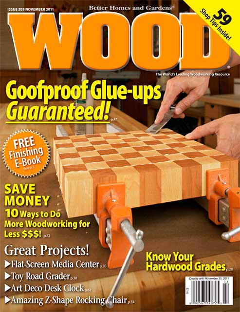 WOOD Issue 208, November 2011, WOOD Magazine