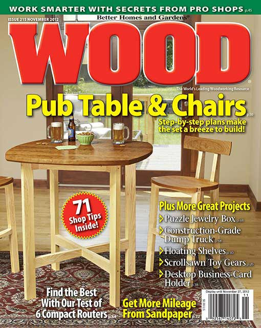 WOOD Issue 215, November 2012