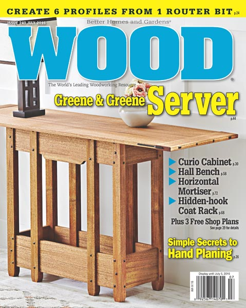 WOOD Issue 240, July 2016
