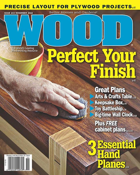 WOOD Issue 243, November 2016