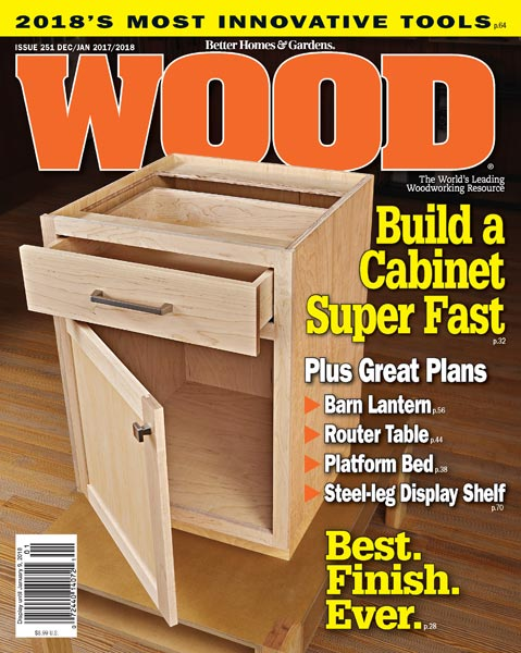 WOOD Issue 251, December/January 2017/2018