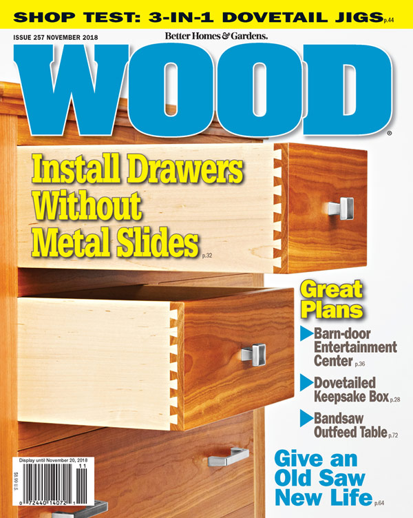 WOOD Issue 257, November 2018