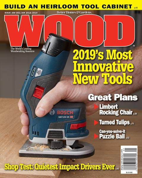 WOOD Issue 258, December/January 2018/2019