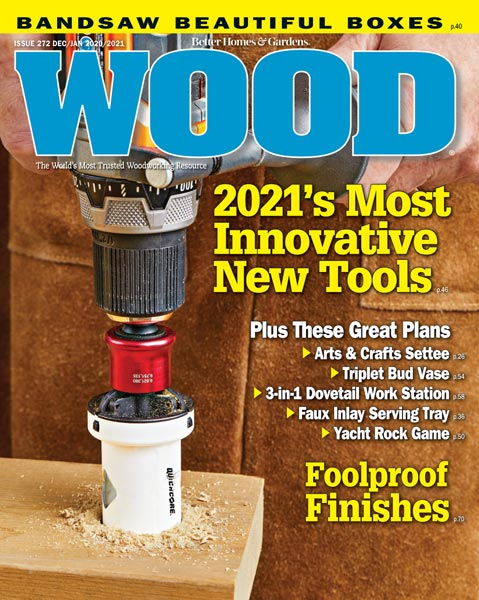 WOOD Issue 272, December/January 2020/2021