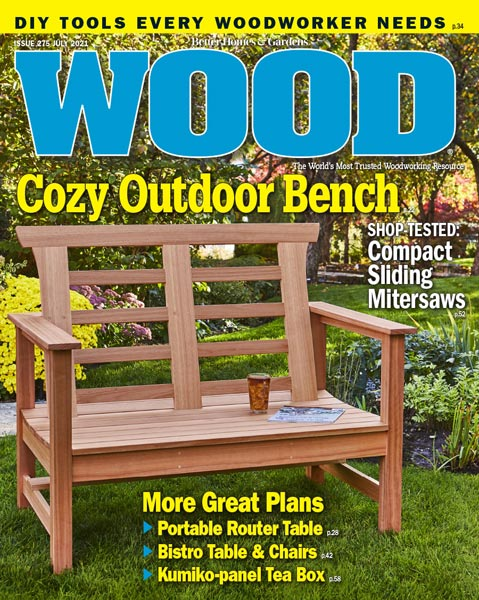WOOD Issue 275, July 2021