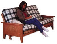 Fantastic Mission Futon Suite: Bed Large-format Paper Woodworking Plan