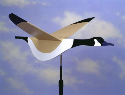 High-Flying Goose Weather Vane : Large-format Paper Woodworking Plan
