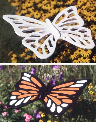 Supersized Butterfly : Large-format Paper Woodworking PlanOutdoor Seasonal Yard Figures
