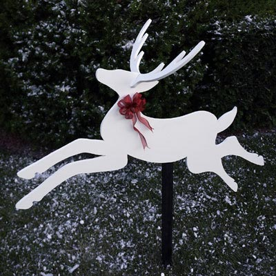 Dashing Deer : Large-format Paper Woodworking Plan