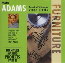 Marc Adams - Furniture Making Techniques, Part 2 Woodworking Plan, Techniques Videos
