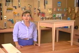 Woodworking I: Building Tables Woodworking Plan, Project Videos