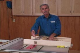 12 Tablesaw Jigs - Video DVD