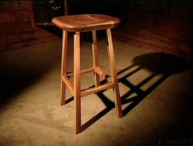 Woodworks Episode 112: Carved Oak Barstool Project Videos