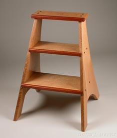 Woodworks Episode 205: Oak Step Ladder - Downloadable Video