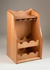 Woodworks Episode 412: Wine Caddy - Downloadable Video