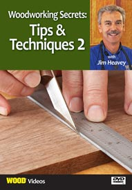Woodworking Secrets: Tips and Techniques 2 - Video DVD