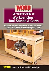 Complete Guide to Workbenches, Tool Stands, & Carts
