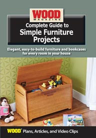 Complete Guide to Simple Furniture Projects