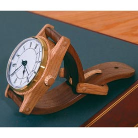 Wall-Hung Wristwatch Woodworking Plan, Gifts & Decorations Clocks