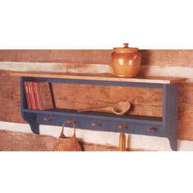 Country Collection Wall Shelf Downloadable Plan