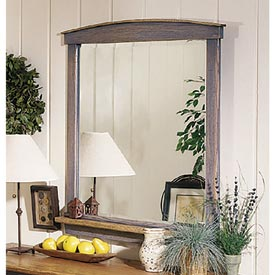 Country-Fresh Dresser Mirror