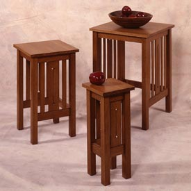 Arts and Crafts Nesting Tables Printed Plan
