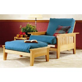 Fantastic Mission Futon Suite: Chair and Ottoman Downloadable Plan