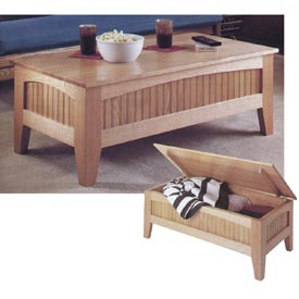 Futon Table Printed Plan