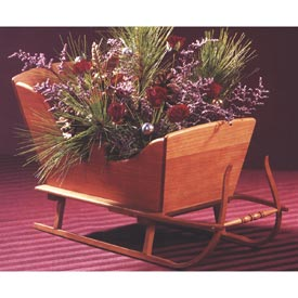 Vintage Tabletop Sleigh Downloadable Plan