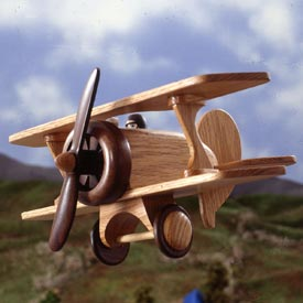 Biplane Printed Plan