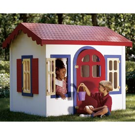 Country Cottage Playhouse Downloadable Plan
