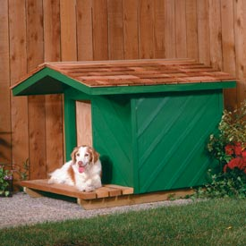 Dog House Printed Plan