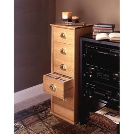 CD Storage Cabinet Downloadable Plan