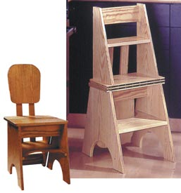 Two-In-One Seat/Step Stool Downloadable Plan