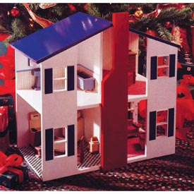 Open House Doll House Downloadable Plan