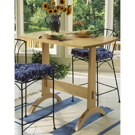 Shaker Trestle Table Printed Plan