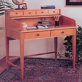 Rolltop Writing Desk Downloadable Plan