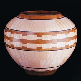 Segmented Lathe Bowl Downloadable Plan